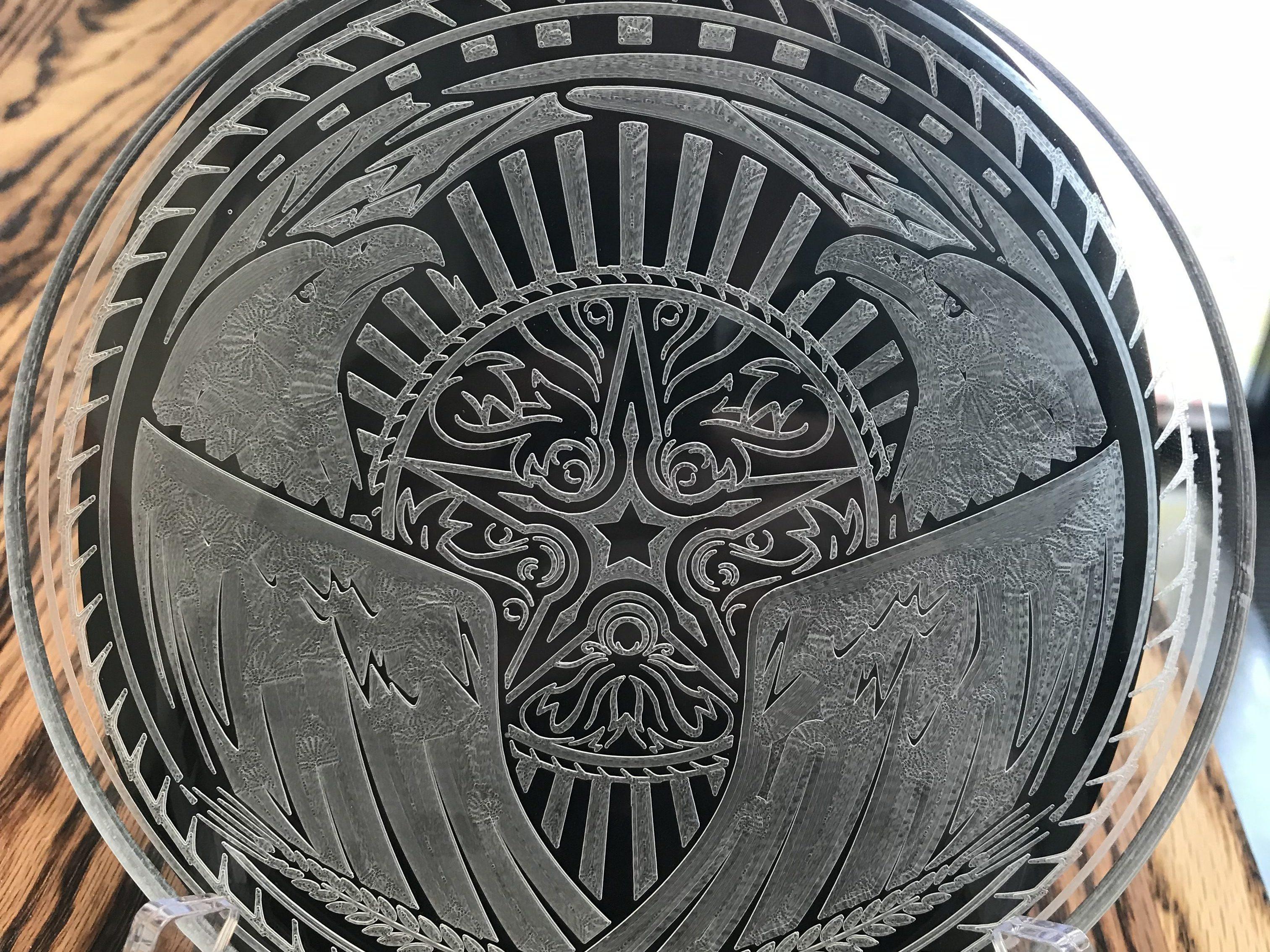 Acrylic Engraved