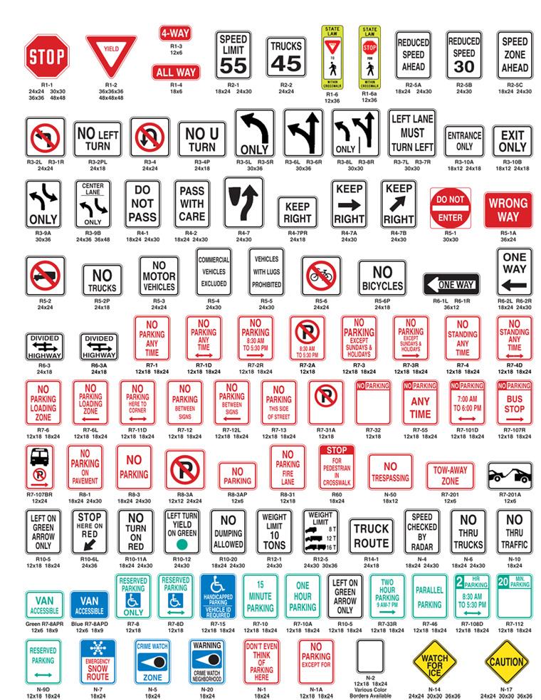 Regulatory Signs Newman Signs
